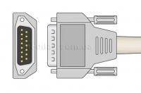 Универсальный кабель ЭКГ для электрокардиографов со штекерами отведений DIN 3.0