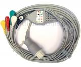 Кабель ЭКГ, совместимый с мониторами пациента Datex-Ohmeda®