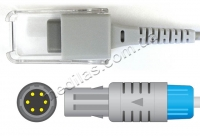 Кабель удлинитель - переходник для SpO2 датчика для мониторов пациента Mindray